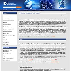The Independent Regulators Group - IRG