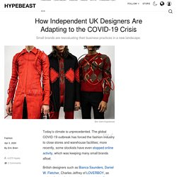 How Independent Designers Are Responding to COVID-19