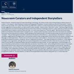 Curadores de noticias y cuentadores independientes: Curación de contenido como una nueva forma de periodismo