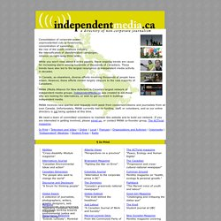 independentmedia.ca: a directory of non-corporate journalism
