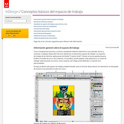 InDesign * Conceptos básicos del espacio de trabajo