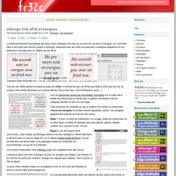 inDesign Cs6, ePub et exergues - fr32c blog