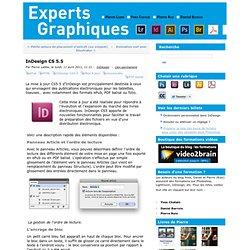 InDesign CS 5.5 - experts-graphiques.com