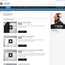 Tuto Indesign Gratuit : 126 tutoriels Indesign