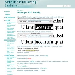 InDesign PDF Tooltip - Kerntiff Publishing Systems