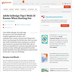 Adobe InDesign Tips I Wish I'd Known When Starting Out