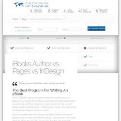iBooks Author vs. Pages vs. InDesign