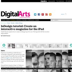 InDesign Tutorial | Create an interactive magazine for the iPad