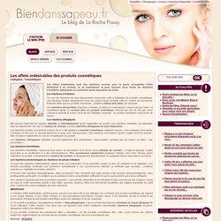 Les effets indésirables des produits cosmétiques
