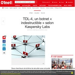 TDL-4, un botnet « indestructible » selon Kaspersky Labs