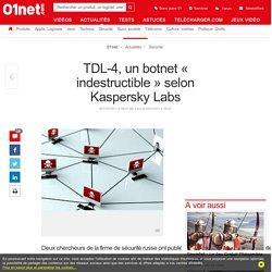 TDL-4, un botnet « indestructible» selon Kaspersky Labs