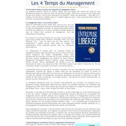 Les 4 temps du management Entreprise libérée