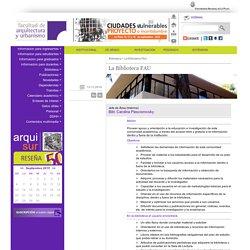 Biblioteca FAU.UNLP