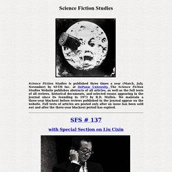 Science Fiction Studies