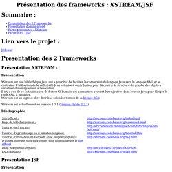 presentation Jsf