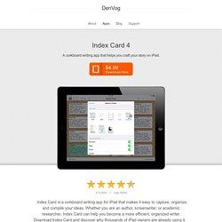 Index Card for iPad