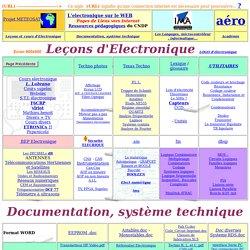index: Cours Electronique