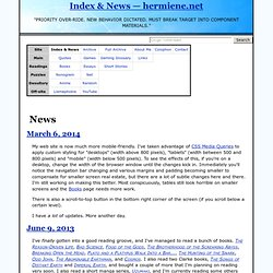 Index & News — hermiene.net