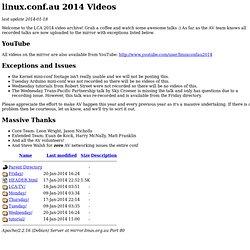 Index of /linux.conf.au/2014