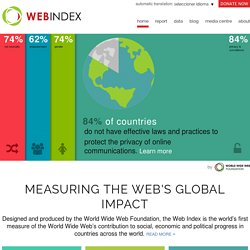 The Web Index | by World Wide Web Foundation