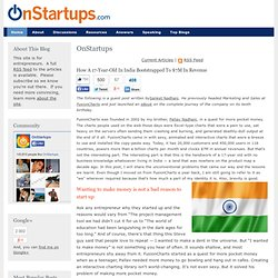 How A 17-Year-Old In India Bootstrapped To $7M In Revenue