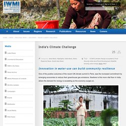 India's Climate Challenge