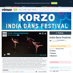 India Dans Festival on Vimeo