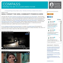 India: Forget the Grid, Community Power is Here