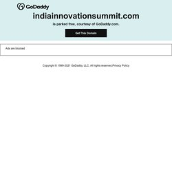 India Innovation Summit 2011