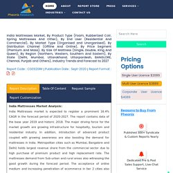 India Mattresses Market (2020-2027)