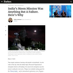 India's Moon Mission Was Anything But A Failure. Here's Why