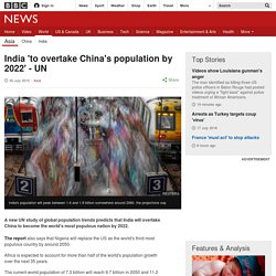 India Overtakes China As Most Populous Nation