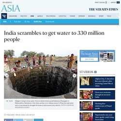 India scrambles to get water to 330 million people, South Asia News