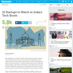 India's Top 10 Tech Startups