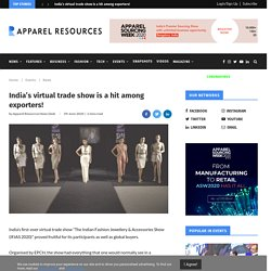 India's virtual trade show is a hit among exporters!