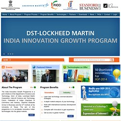 Welcome to Lockheed Martin India Innovation Growth Program