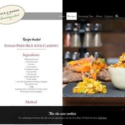 Indian Fried Rice with Cashews - Seasoning School