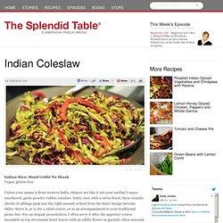 Indian Coleslaw