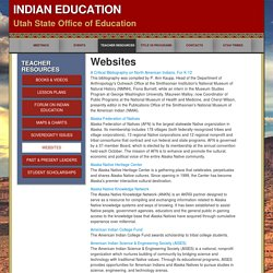 Indian Education - Utah State Office of Education