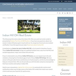 Indian Hill, Ohio Real Estate Guide