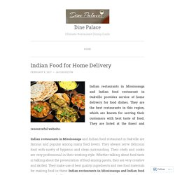 Indian Food for Home Delivery