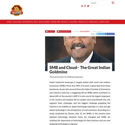 SMB and Cloud– The Great Indian Goldmine-DQChannels