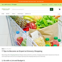 7 ways to shop Indian grocery in Germany like a pro
