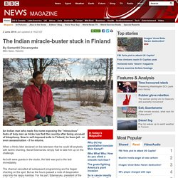 The Indian miracle-buster stuck in Finland (Reason: Why is reason so hard to accept?)