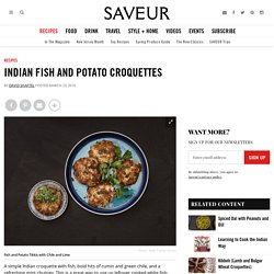 Indian Fish and Potato Croquettes Recipe