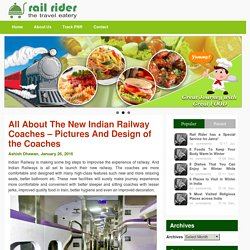 New Indian railway coaches images & Design