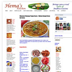 Indian Recipes-Andhra Cuisine-Hema's Kitchen