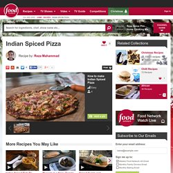 Indian Spiced Pizza Recipe by Reza Mahammad