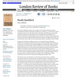 Gary Indiana reviews 'The Brothers' by Masha Gessen · LRB 10 September 2015