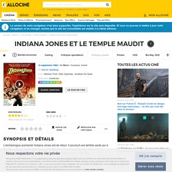 Indiana Jones et le Temple maudit - film 1984